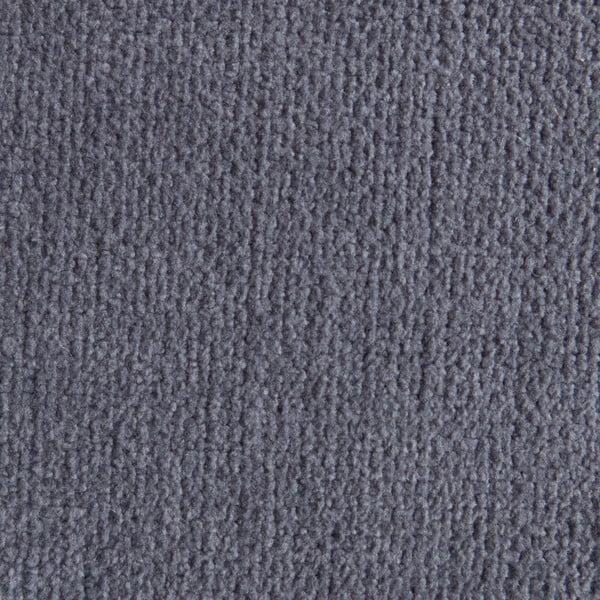 Modrosivý sedací vankúšik s masážnymi loptičkami Linda Vrňáková Bloom, Ø75cm