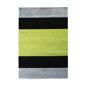 Sivo-zelený koberec Tomasucci Strip, 140 x 190 cm