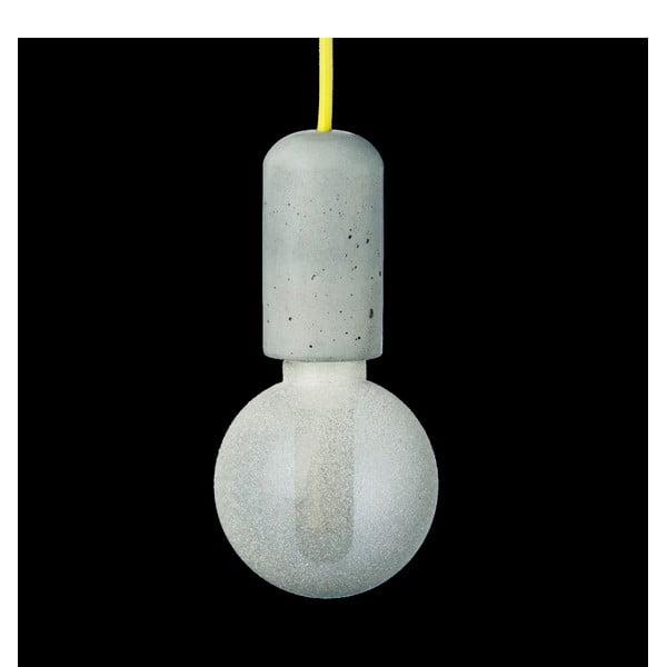 Žlté svietidlo od Jakuba Velínskeho, 1,2 m