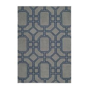 Vlnený koberec Safavieh Bellina Blue, 91 x 152 cm