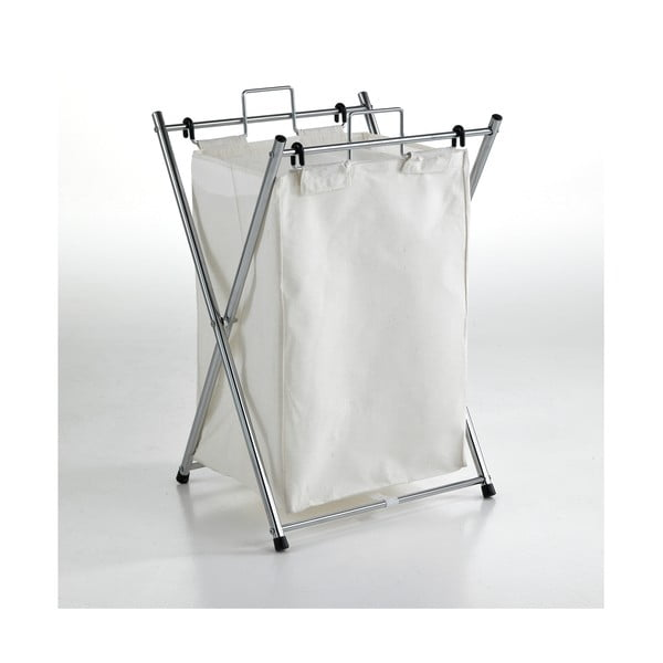 Biely kôš na prádlo Tomasucci Cross