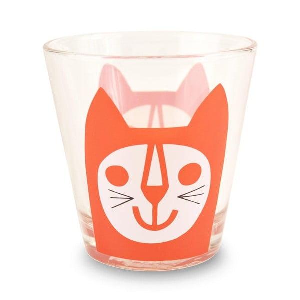 Pohár MAKE International Red Cat, 250 ml
