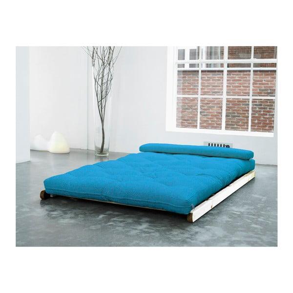 Leňoška Karup Figo, Raw/Horizon Blue, 120 cm