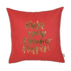 Červená obliečka na vankúš Apolena Dreams, 45 x 45 cm