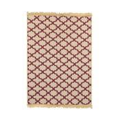 Béžovo-červený koberec Ya Rugs Claret, 120×180cm