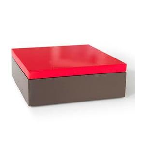 Drevený box Remember Red