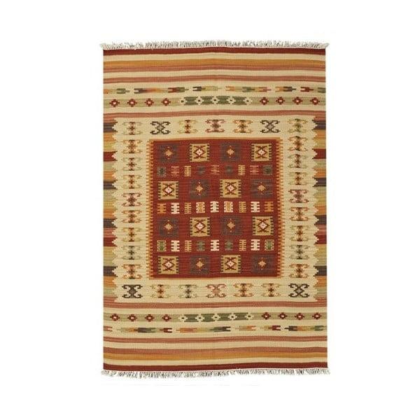 Vlnený koberec Bakero Kilim Classic 19121 B Mix, 125x185 cm