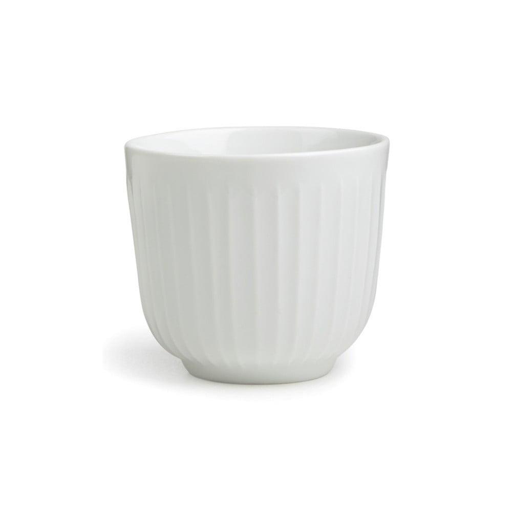 Biely hrnček Kähler Design Hammershoi, 200 ml