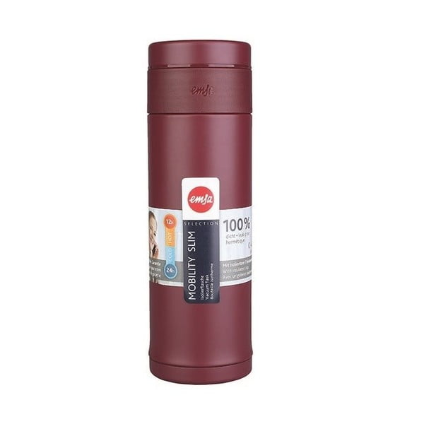 Termo fľaša Mobilitiy Slim Red, 320 ml