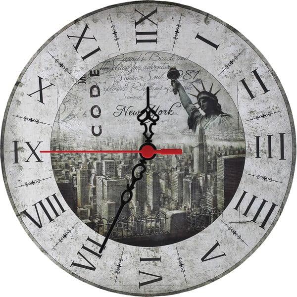 Nástenné hodiny New York, 30 cm
