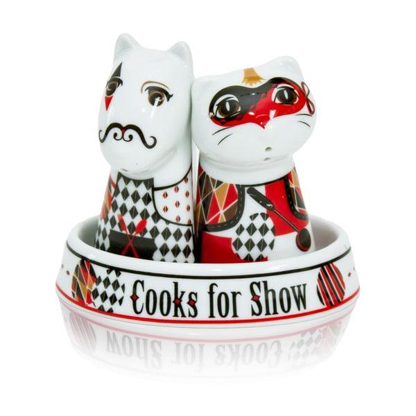 Soľnička a korenička Chef Showmen