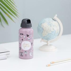 Cestovná fľaša Mr. Wonderful Sketch the World NY, 600 ml