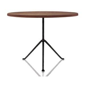 Jedálenský stôl s deskou z jasanového dreva Magis Officina, ø 75 cm