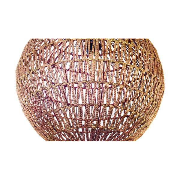 Závesný luster Fisura Hive Copper, 50cm