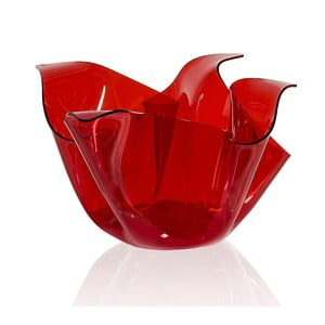 Váza/miska Drappeggi Vaso Rosso