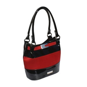 Kabelka Boscollo Red and Black 2435
