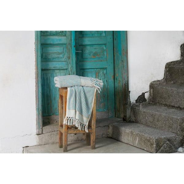 Turecká osuška Meryem White/Dark Slate, 95x170 cm