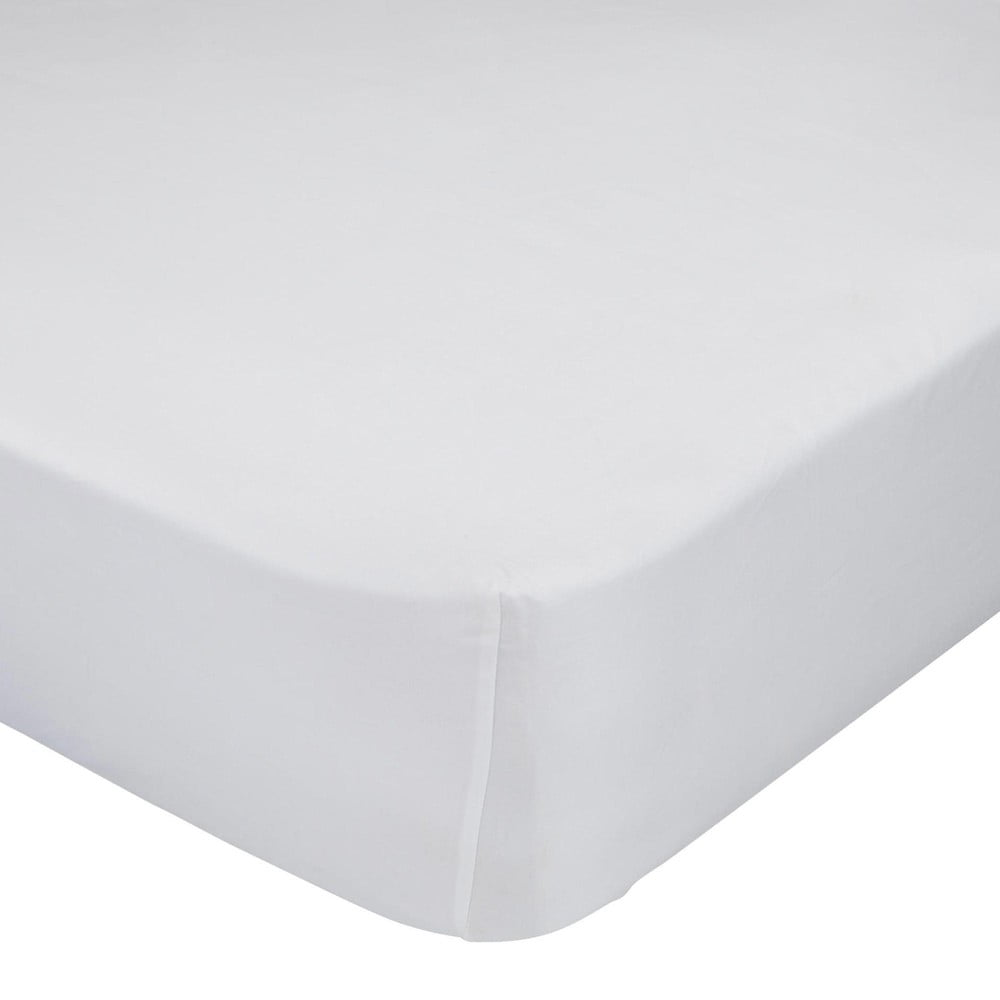 Biela elastická plachta HF Living Basic, 140 x 200 cm