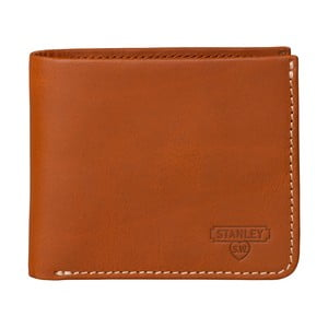 Hnedá kožená peňaženka Stanley Tools Bi Fold