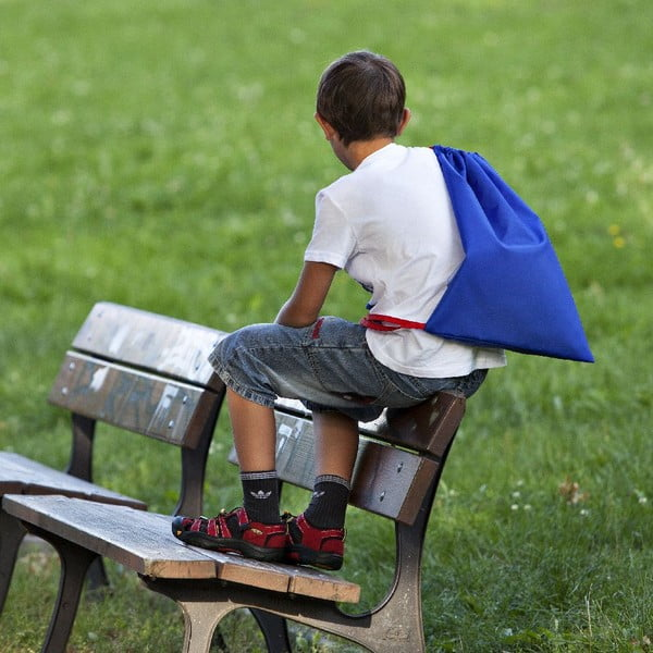 Batoh/vrece do školy, modrý