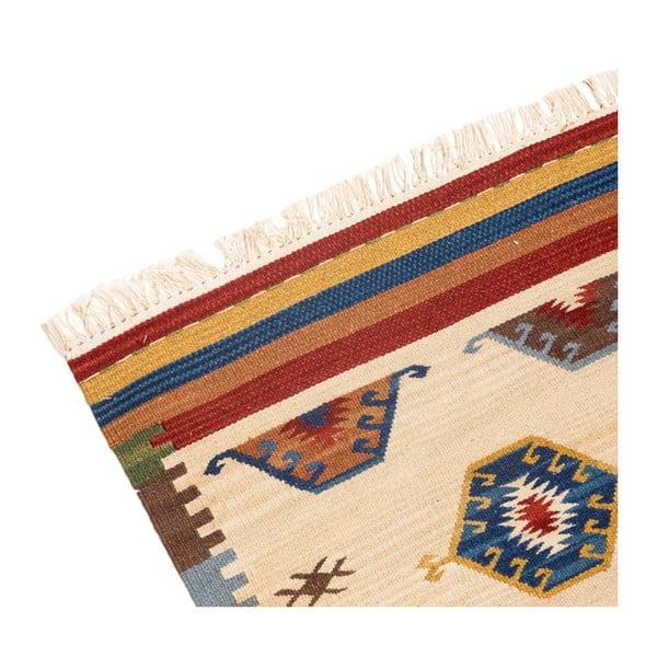 Ručne tkaný koberec Kilim Dalush 610, 250x80 cm