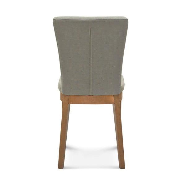 Sada 2 sivých stoličiek Fameg Greta