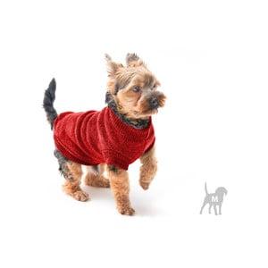 Červený svetrík pre psov Marendog Trip, veľ. M