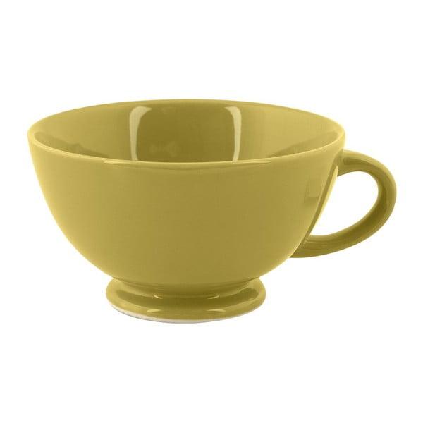 Hrnček Jumbo Cappuccino, olivový