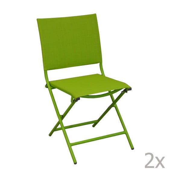 Sada 2 záhradných stoličiek Pieghevoli Mousse