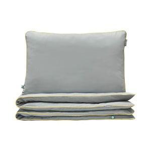 Sivé obliečky Mumla Lenz, 200x200cm