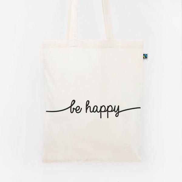 Plátená taška Be Happy