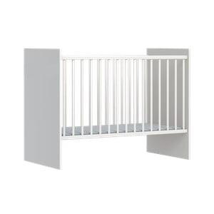 Biela detská postieľka FAKTUM Eco Line, 120 × 60 cm