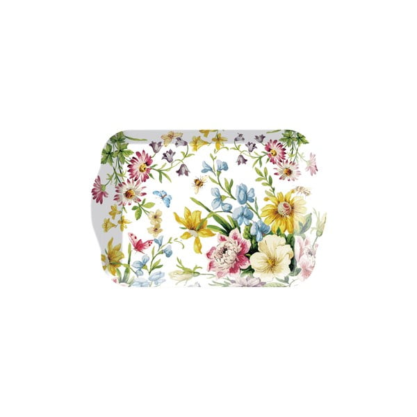 Podnos Creative Tops English Garden, 21×14 cm