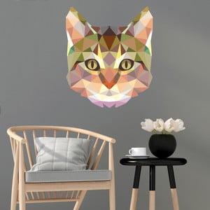 Samolepka Ambiance Fanastick Origami Cat