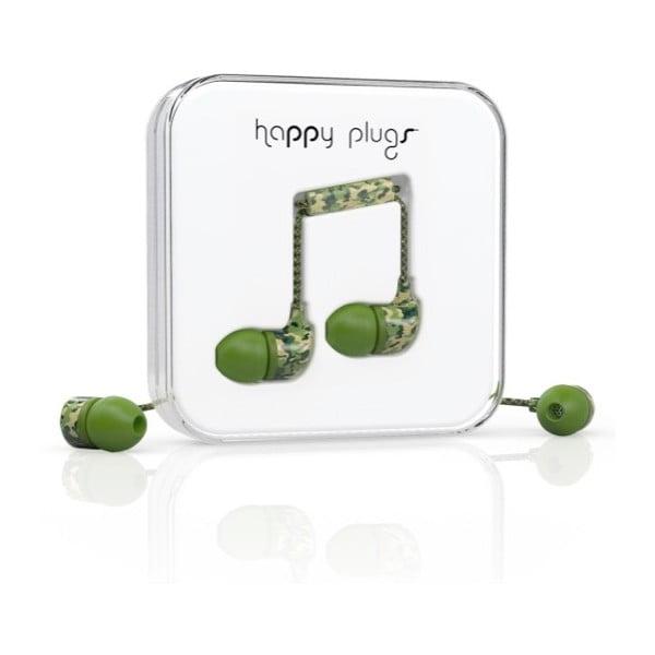 Slúchadlá s nadstavcami Happy Plugs Camouflage