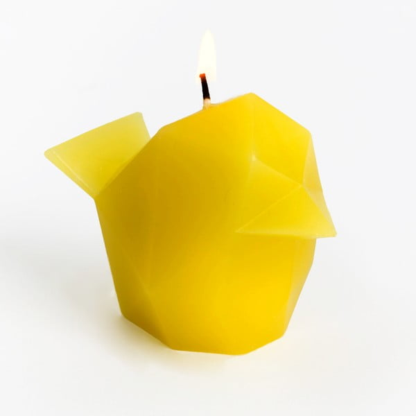 Žltá sviečka Pyropet Bíbí