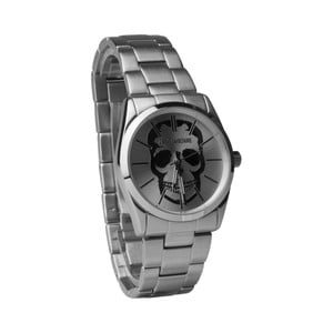 Pánske hodinky striebornej farby Zadig & Voltaire Democritos