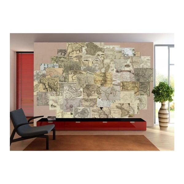 Kreatívna koláž Maps