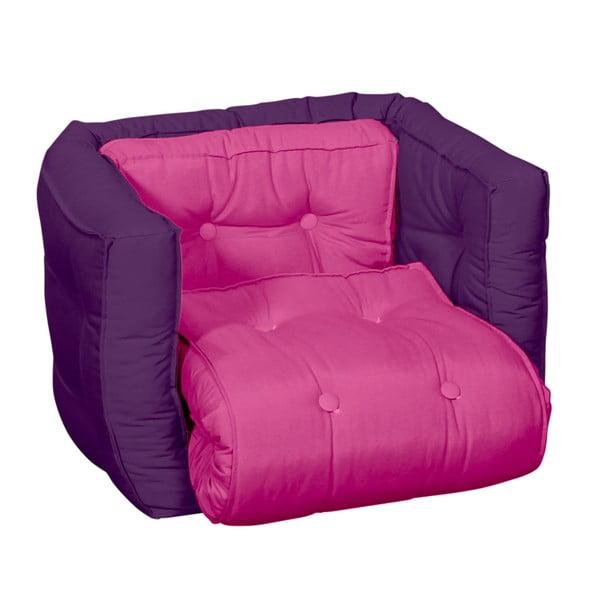 Detské kresielko Karup Baby Dice Pink/Purple