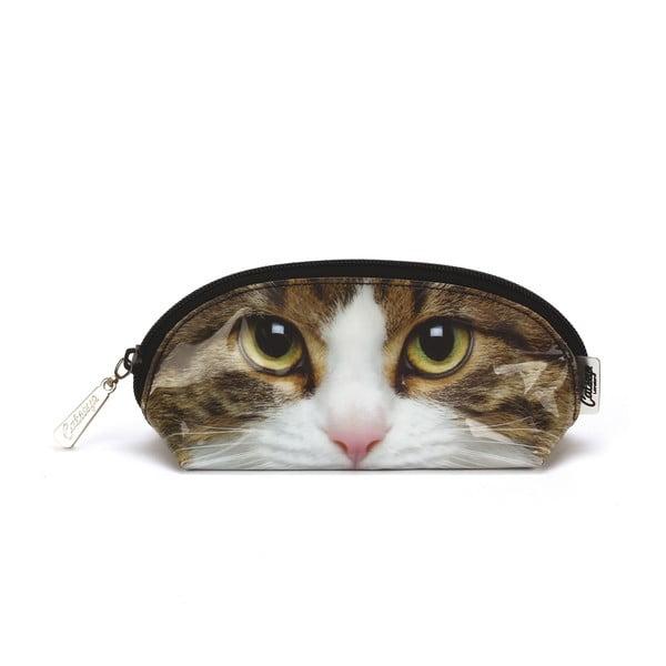 Oválna kozmetická taška Tabby Cat