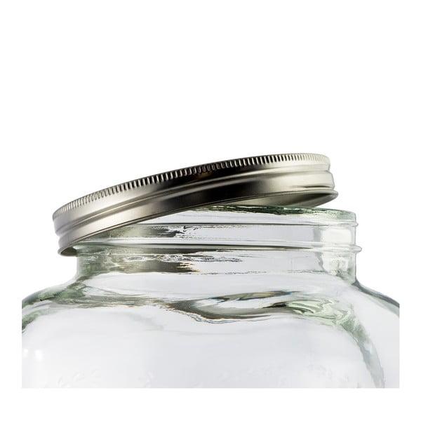 Sklenený barel na limonády Dispenser, 4 l