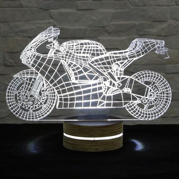 3D stolová lampa Moto