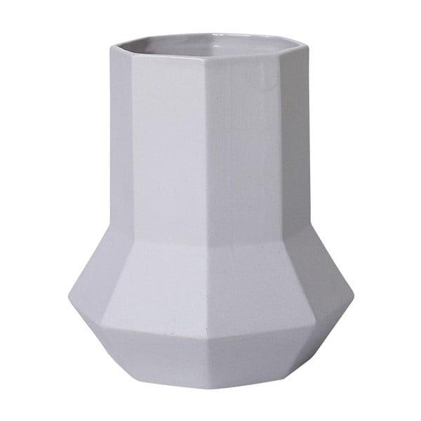 Keramická váza Geometric Grey
