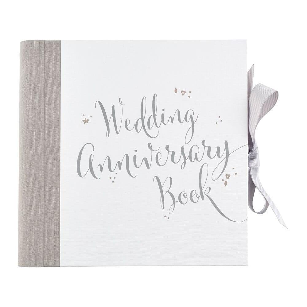 Kniha na zapisovanie výročí svadby Busy B