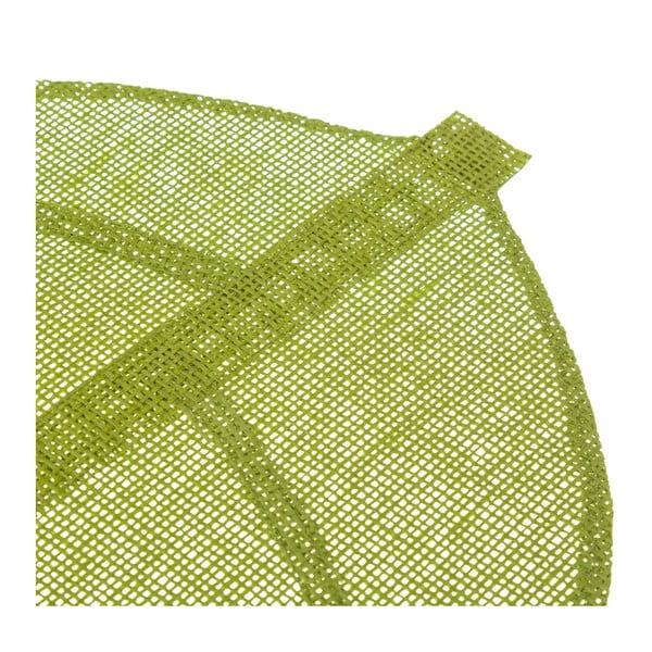 Zelené prestieranie v tvare listu Unimasa, 50 × 33 cm