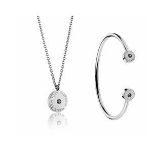 Set náhrdelníka a náramku z antikoro ocele Victoria Walls Lia