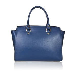 Kožená kabelka Markese 2391 Blue