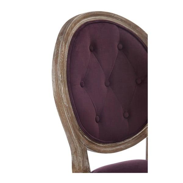 Vínová dubová stolička Versailles