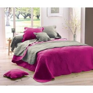 Prikrývka na posteľ Boutis Uni Fuschia, 220x240 cm