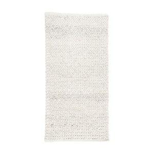 Svetlosivý vlnený koberec Simla Chenille, 140 × 70 cm